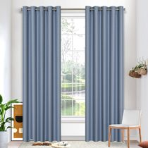 Crossroads Blockout Eyelet Curtain 220cm & 250cm Drop