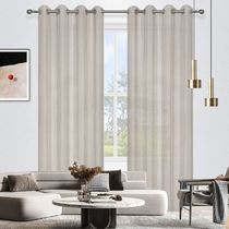 Brighton Sheer Eyelet Curtains 140x220cm
