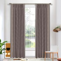 Andorra Blockout Pinch Pleat Curtains