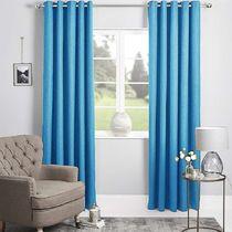 Bennett Textured Plain Eyelet Curtain 140x220cm