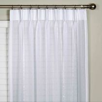 Bergamo Striped Sheer Pinch Pleat Curtains