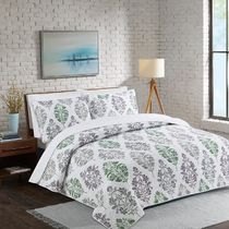 Floral Coverlet Set