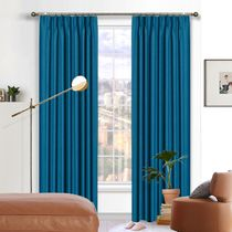 Sahara Blockout Pinch Pleat Curtains