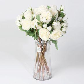 Single Rose 2 Head (white)