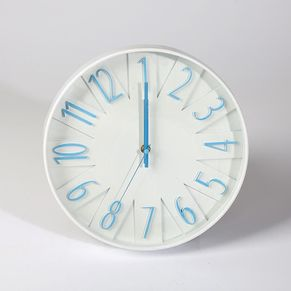 Colored Number Wall Clock
