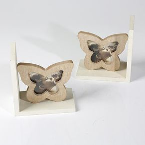 Bookend Butterfly Natural