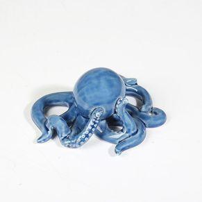 Octopus Shaped Decorative Porcelain