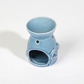 Oil Burner Sea Horse Porcelain