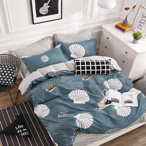 Shell Quilt Cover Set