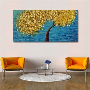Autumn Breeze Wall Painting
