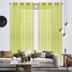 Venice Sheer Eyelet Curtain 140x220cm