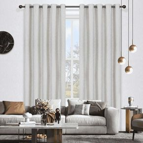 Lincoln Room Darkening Eyelet Curtain