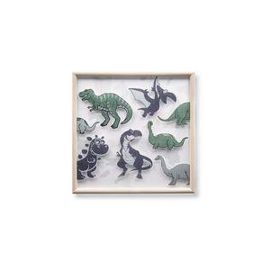 Dinosaur Wall Painting