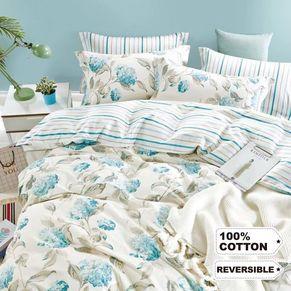 Hydrangea Quilt Cover Set
