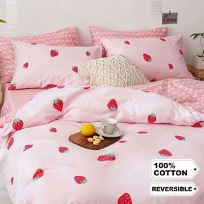 Strawberry Shortcake Quilt Cover Set