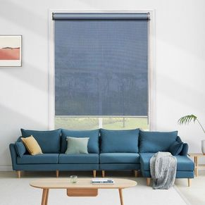 Midnight Light Filtering Roller Blinds
