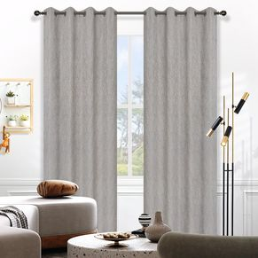 Birch Blockout Eyelet Curtain 140x220cm
