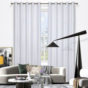 Larne Blockout Eyelet Curtain 220cm & 250cm Drop