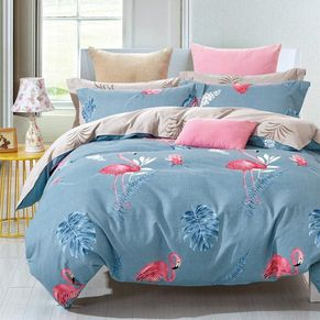 Mediterranean Quilt Cover Set