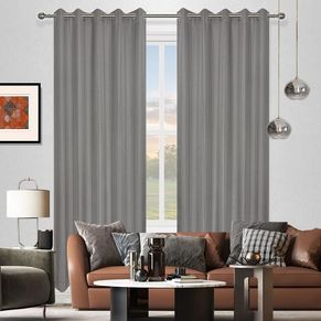 Luton Room Darkening  Eyelet Curtain 220cm & 250cm Drop