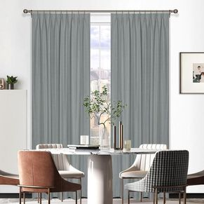 Luton Room Darkening  Pinch Pleat Curtain