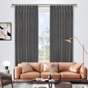 Larne Room Darkening Pinch Pleat  Curtains