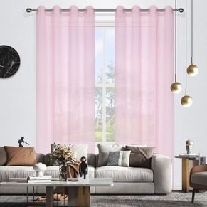 Candy Eyelet Sheer Curtain 140x220cm
