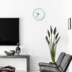 Quartz Wall Clock Aqua
