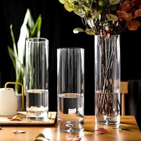 Glass Vase Round Caliber