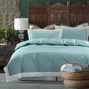 Lace Quilt Cover Set