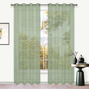 Breeze Sheer Eyelet Curtain 220cm Drop