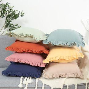 Ruffle Cushion
