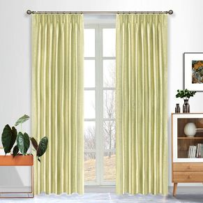 Akira Blockout Pinch Pleat Curtains