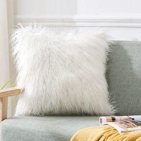 Faux Hair Cushion