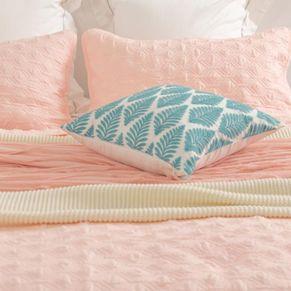 Ocean Leaf Cushion