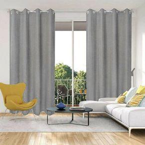 Linden Uncoated Eyelet Curtain 140x220cm