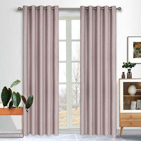 Andorra Blockout Eyelet Curtain 165x220cm