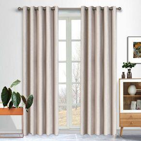 Phoenix Blockout Eyelet Curtain 220cm & 250cm Drop