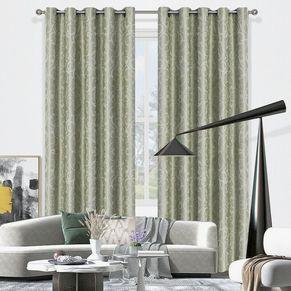 Seville Blockout Eyelet Curtain 220cm & 250cm Drop