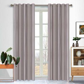 Morocco Blockout Eyelet Curtain 165x220cm