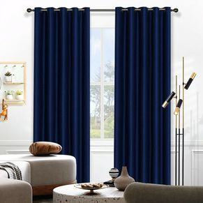 Selina Blockout Eyelet Curtain 220cm & 250cm Drop