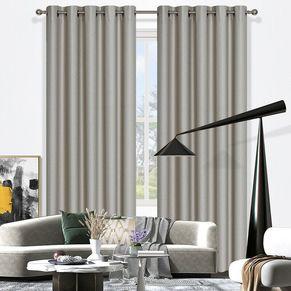 Oregon Blockout Eyelet Curtain 220cm & 250cm Drop