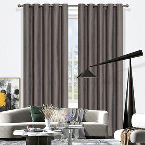 Piper Blockout Eyelet Curtain 220cm & 250cm Drop