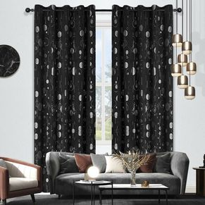 Ring Room Darkening Eyelet Curtain 220cm & 250 drop