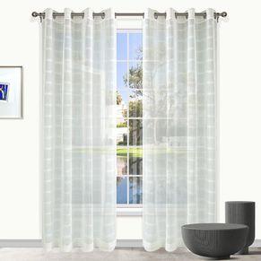 Sheffield Sheer Eyelet Curtain