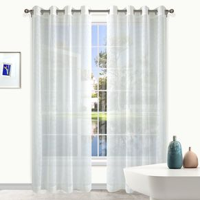 Bristol Sheer Eyelet Curtain