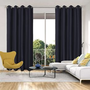 Adrian Blockout Eyelet Curtain 140x220cm