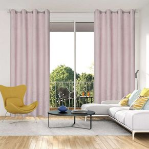 Branch Blockout Eyelet Curtain 140x220cm