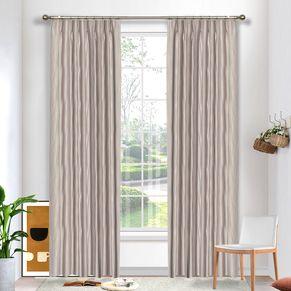 Contour Blockout Pinch Pleat Curtains