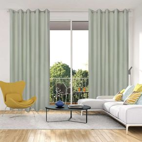 Hamilton Blockout Eyelet Curtain 220cm & 250cm